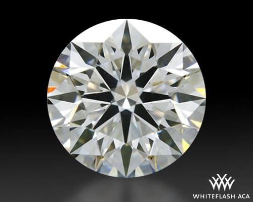 0.654 ct I SI1 A CUT ABOVE® Hearts and Arrows Super Ideal Round Cut Loose Diamond