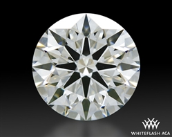 0.664 ct H VS1 A CUT ABOVE® Hearts and Arrows Super Ideal Round Cut Loose Diamond