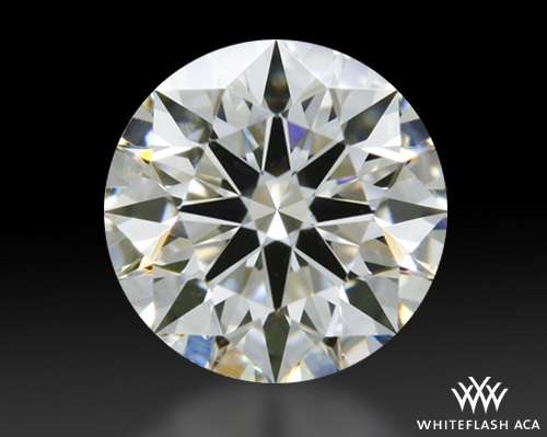 0.324 ct H SI1 A CUT ABOVE® Hearts and Arrows Super Ideal Round Cut Loose Diamond