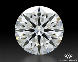 0.911 ct G VS1 A CUT ABOVE® Hearts and Arrows Super Ideal Round Cut Loose Diamond