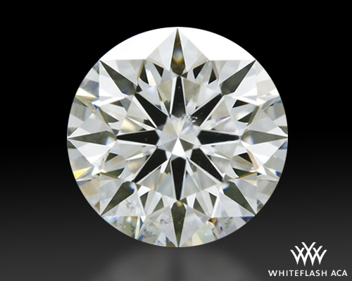 0.918 ct J SI1 A CUT ABOVE® Hearts and Arrows Super Ideal Round Cut Loose Diamond