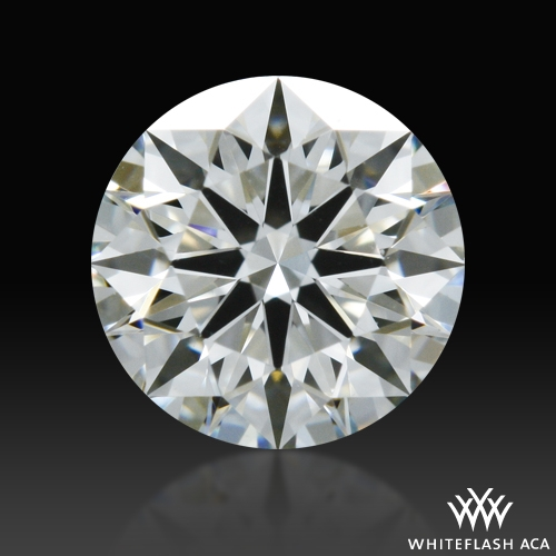 0.421 ct H VS1 A CUT ABOVE® Hearts and Arrows Super Ideal Round Cut Loose Diamond