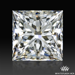0.731 ct F VS2 A CUT ABOVE® Princess Super Ideal Cut Diamond