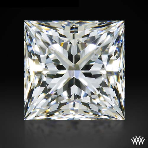 0.511 ct F VS1 A CUT ABOVE® Princess Super Ideal Cut Diamond