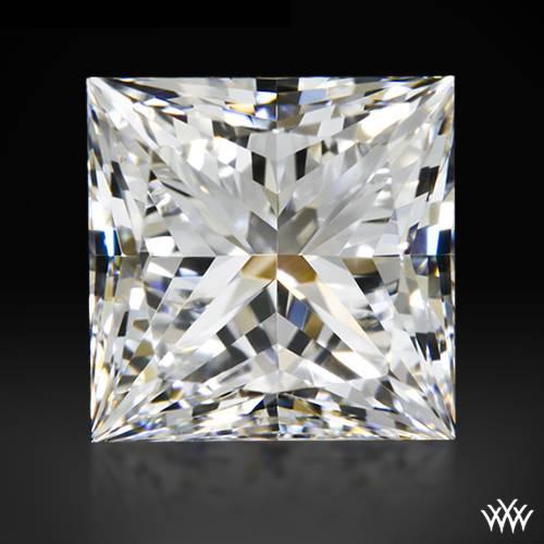 1.008 ct F VVS1 A CUT ABOVE® Princess Super Ideal Cut Diamond