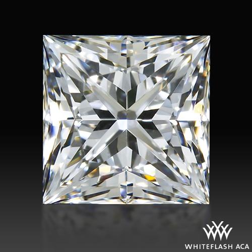 0.523 ct F VS1 A CUT ABOVE® Princess Super Ideal Cut Diamond