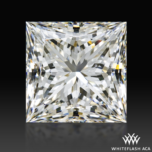 2.058 ct H VS2 A CUT ABOVE® Princess Super Ideal Cut Diamond