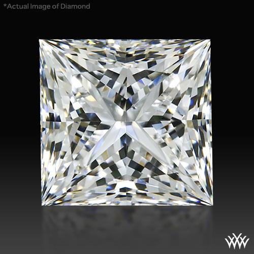 0.733 ct F SI1 A CUT ABOVE® Princess Super Ideal Cut Diamond