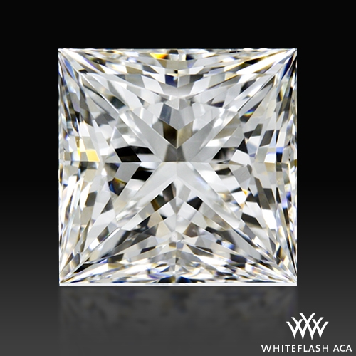 1.013 ct H VS1 A CUT ABOVE® Princess Super Ideal Cut Diamond