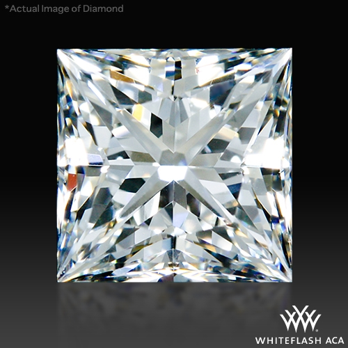 1.034 ct I VS2 A CUT ABOVE® Princess Super Ideal Cut Diamond