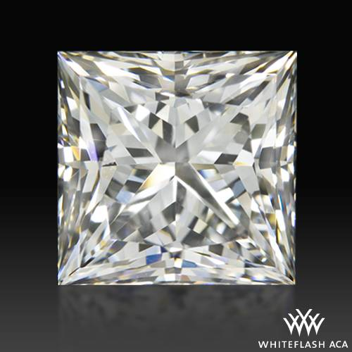1.022 ct G SI1 A CUT ABOVE® Princess Super Ideal Cut Diamond
