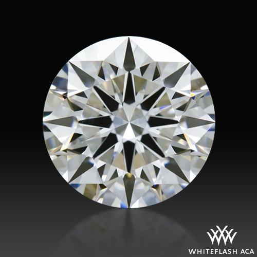 0.808 ct F VS2 A CUT ABOVE® Hearts and Arrows Super Ideal Round Cut Loose Diamond