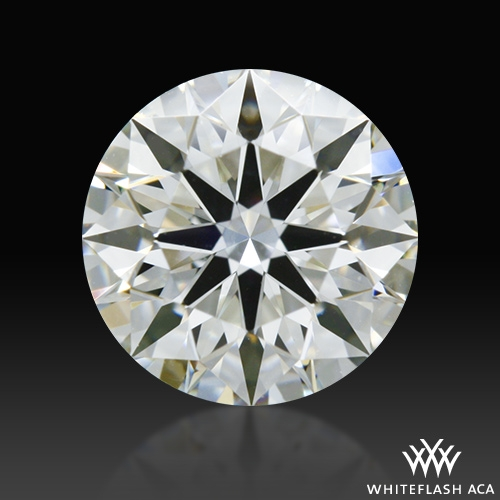 0.726 ct I VS1 A CUT ABOVE® Hearts and Arrows Super Ideal Round Cut Loose Diamond