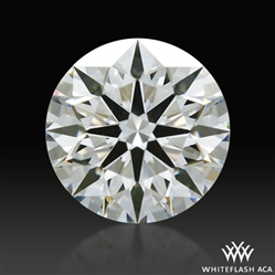 0.798 ct I VS1 A CUT ABOVE® Hearts and Arrows Super Ideal Round Cut Loose Diamond