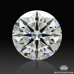 0.85 ct H VS2 A CUT ABOVE® Hearts and Arrows Super Ideal Round Cut Loose Diamond