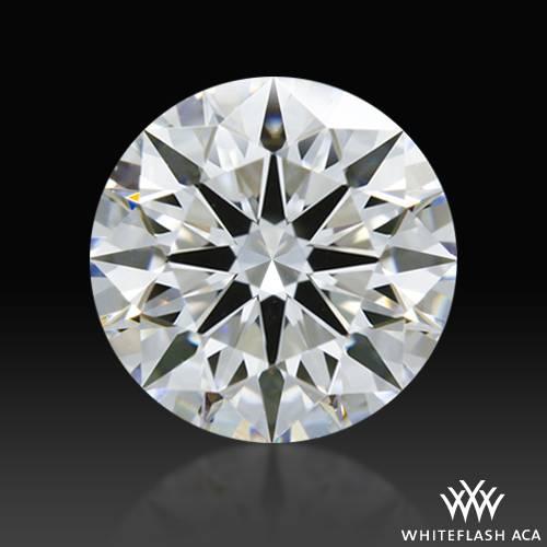 0.865 ct D VVS2 A CUT ABOVE® Hearts and Arrows Super Ideal Round Cut Loose Diamond