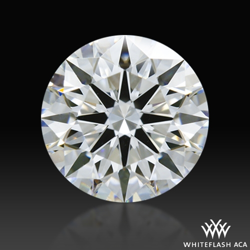 0.865 ct D VVS2 A CUT ABOVE® Hearts and Arrows Super Ideal Round Cut Loose Diamond