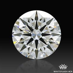 0.936 ct H VS1 A CUT ABOVE® Hearts and Arrows Super Ideal Round Cut Loose Diamond