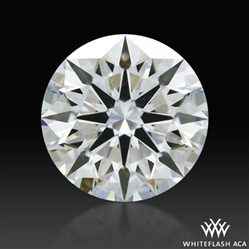 0.606 ct G VVS2 A CUT ABOVE® Hearts and Arrows Super Ideal Round Cut Loose Diamond