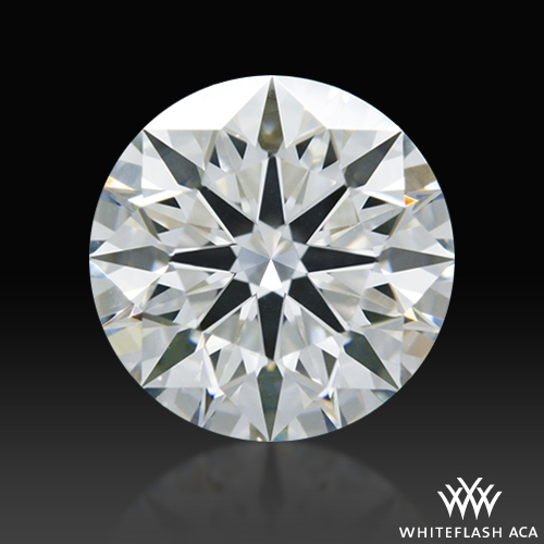 1.233 ct H VS2 A CUT ABOVE® Hearts and Arrows Super Ideal Round Cut Loose Diamond
