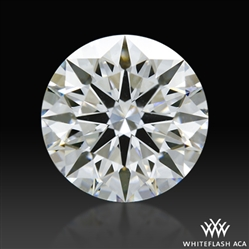 1.222 ct F VS1 A CUT ABOVE® Hearts and Arrows Super Ideal Round Cut Loose Diamond