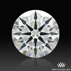 1.208 ct F VS2 A CUT ABOVE® Hearts and Arrows Super Ideal Round Cut Loose Diamond