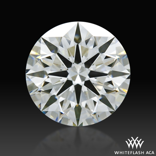 1.252 ct H VS2 A CUT ABOVE® Hearts and Arrows Super Ideal Round Cut Loose Diamond