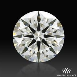 0.60 ct J VS1 A CUT ABOVE® Hearts and Arrows Super Ideal Round Cut Loose Diamond