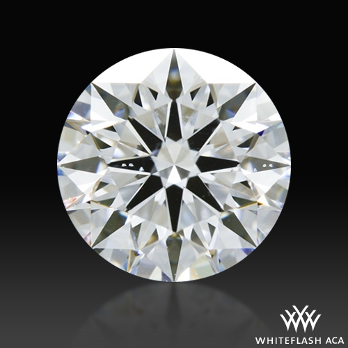 0.705 ct D SI1 A CUT ABOVE® Hearts and Arrows Super Ideal Round Cut Loose Diamond