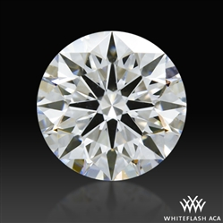 0.772 ct E VVS2 A CUT ABOVE® Hearts and Arrows Super Ideal Round Cut Loose Diamond