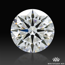 0.701 ct E VVS2 A CUT ABOVE® Hearts and Arrows Super Ideal Round Cut Loose Diamond