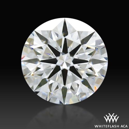 0.811 ct E VS2 A CUT ABOVE® Hearts and Arrows Super Ideal Round Cut Loose Diamond