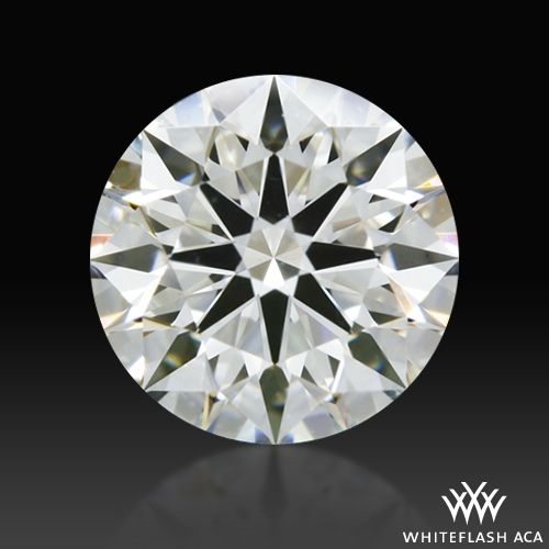 0.604 ct I VS2 A CUT ABOVE® Hearts and Arrows Super Ideal Round Cut Loose Diamond