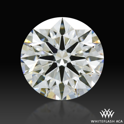0.633 ct H VS1 A CUT ABOVE® Hearts and Arrows Super Ideal Round Cut Loose Diamond