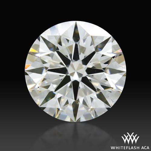 0.627 ct H VS1 A CUT ABOVE® Hearts and Arrows Super Ideal Round Cut Loose Diamond