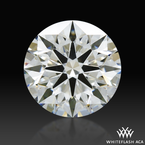 0.626 ct H SI1 A CUT ABOVE® Hearts and Arrows Super Ideal Round Cut Loose Diamond