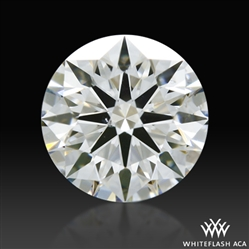 0.664 ct G SI1 A CUT ABOVE® Hearts and Arrows Super Ideal Round Cut Loose Diamond