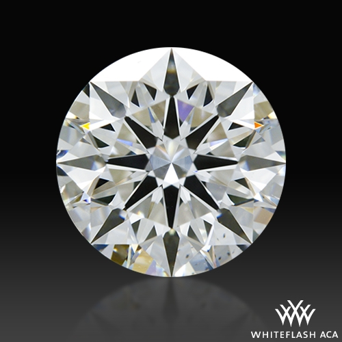 1.73 ct G SI1 A CUT ABOVE® Hearts and Arrows Super Ideal Round Cut Loose Diamond