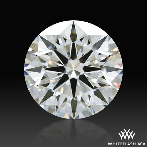 1.267 ct E VS2 A CUT ABOVE® Hearts and Arrows Super Ideal Round Cut Loose Diamond