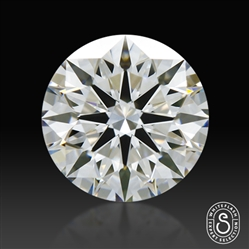 0.826 ct H VS1 Expert Selection Round Cut Loose Diamond