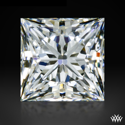 0.698 ct I VS1 A CUT ABOVE® Princess Super Ideal Cut Diamond