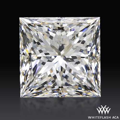 1.70 ct G SI1 A CUT ABOVE® Princess Super Ideal Cut Diamond