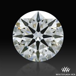 0.408 ct G VS2 A CUT ABOVE® Hearts and Arrows Super Ideal Round Cut Loose Diamond
