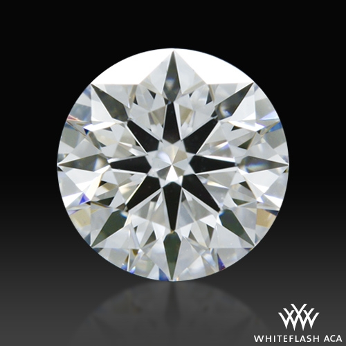 0.505 ct E VVS2 A CUT ABOVE® Hearts and Arrows Super Ideal Round Cut Loose Diamond