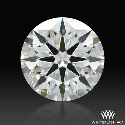 0.514 ct H VS1 A CUT ABOVE® Hearts and Arrows Super Ideal Round Cut Loose Diamond