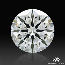 0.527 ct F VS1 A CUT ABOVE® Hearts and Arrows Super Ideal Round Cut Loose Diamond