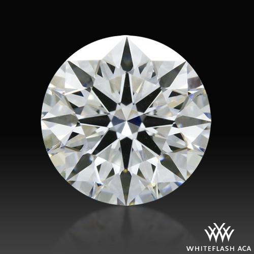 0.526 ct E VS1 A CUT ABOVE® Hearts and Arrows Super Ideal Round Cut Loose Diamond