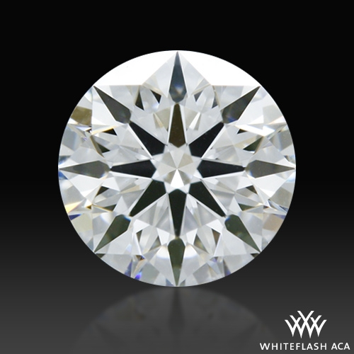 0.538 ct E VVS1 A CUT ABOVE® Hearts and Arrows Super Ideal Round Cut Loose Diamond