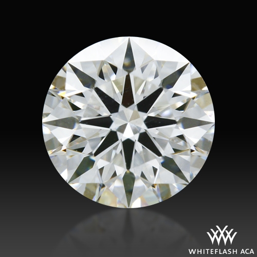 0.556 ct F VS1 A CUT ABOVE® Hearts and Arrows Super Ideal Round Cut Loose Diamond
