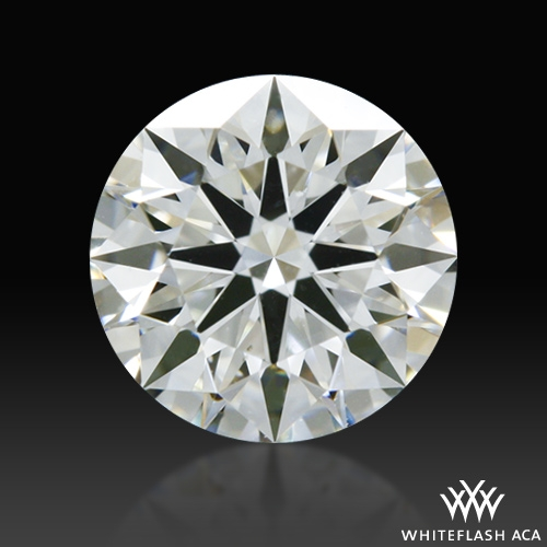 0.554 ct H SI1 A CUT ABOVE® Hearts and Arrows Super Ideal Round Cut Loose Diamond